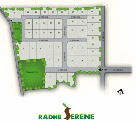 Radhe Radhe Serene Layout Plan