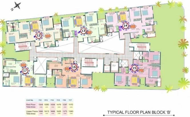 Sree Properties Utopia Cluster Plan
