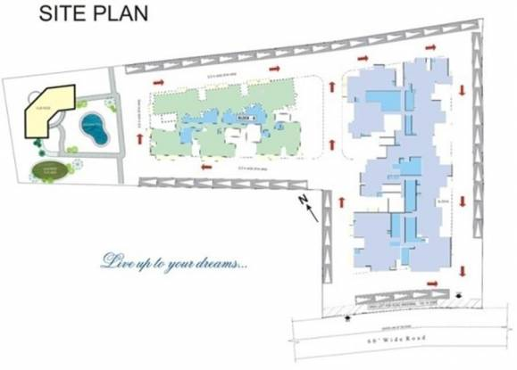 Sree Properties Utopia Site Plan