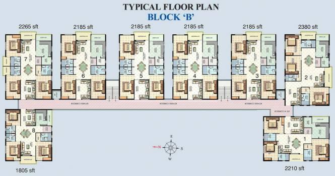 Aditya Eden Park Cluster Plan