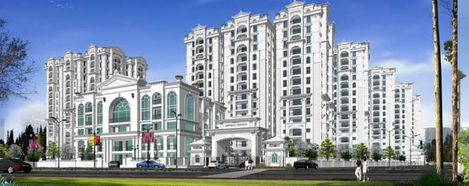 Aditya Imperial Heights Elevation