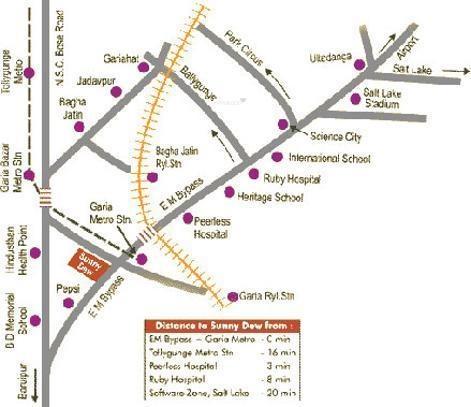 Starlite Sunny Dew Location Plan