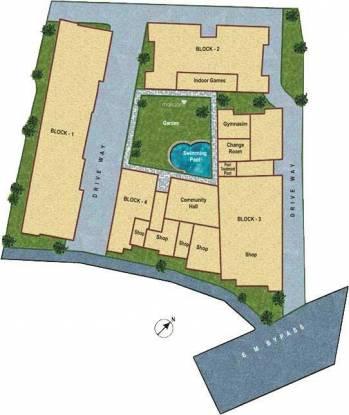 Starlite Sunny Dew Site Plan