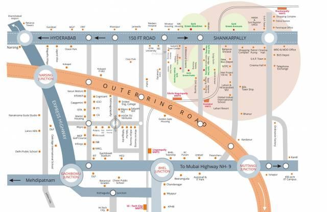 Sark One Location Plan