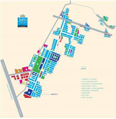 Vatika Jaipur 21 Location Plan