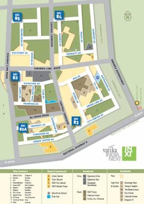 Vatika Plots Vatika India Next Location Plan