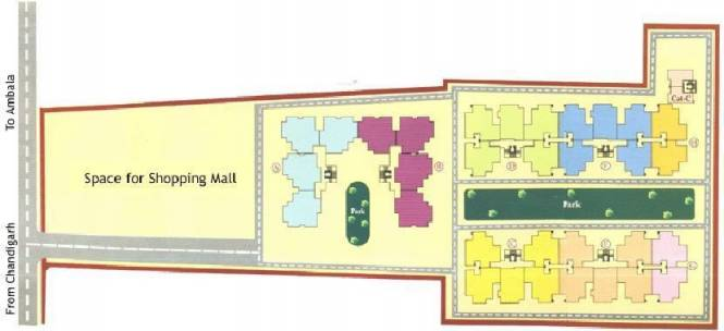 Mittals Rishi Apartments Layout Plan