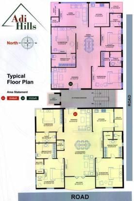 Srinilaya Adi Hills Cluster Plan