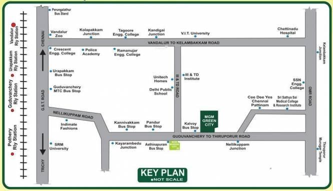 SM MGM Green City Location Plan