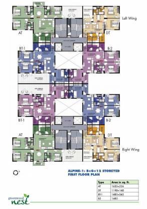 Shrachi Greenwood Nest Cluster Plan