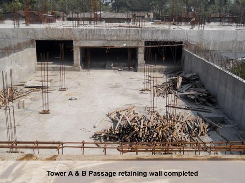 Shrachi Greenwood Nest Construction Status