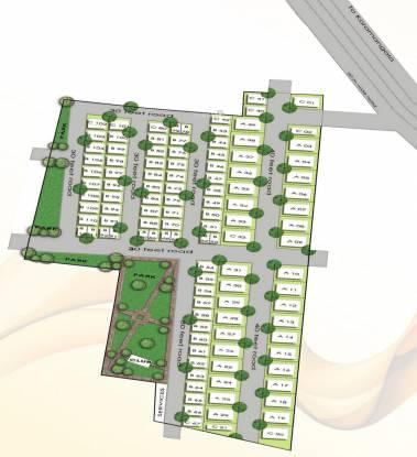 Millennia Lake View Layout Plan