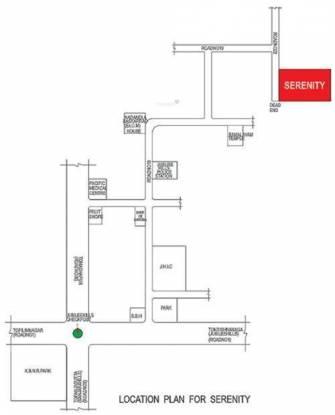 Sri Aditya Serenity Location Plan