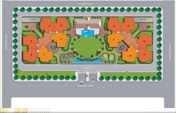 Manisha Marvel Home Layout Plan