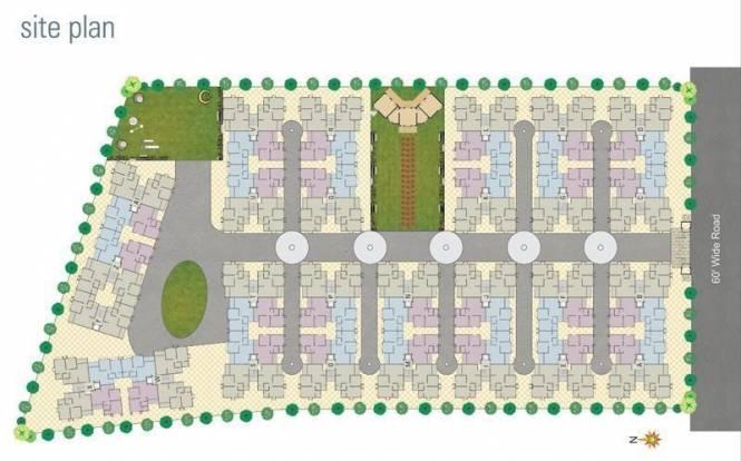 Dharmadev Swaminarayan Park 1 Site Plan