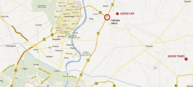 Sangath Good Life Location Plan