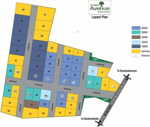Greater Green Avenue Site Plan