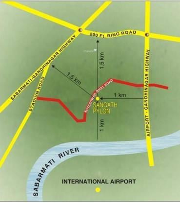 Sangath Pylon Location Plan
