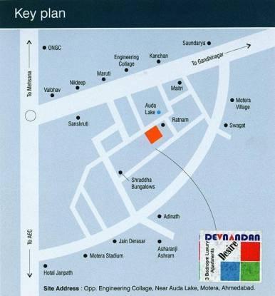 Devnandan Devnandan Desire Location Plan
