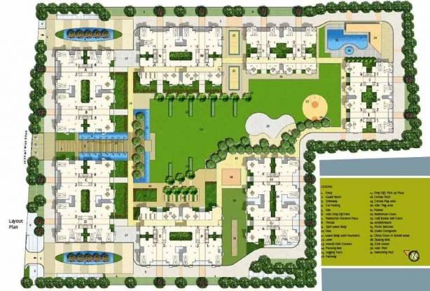 Safal Parisar II Layout Plan
