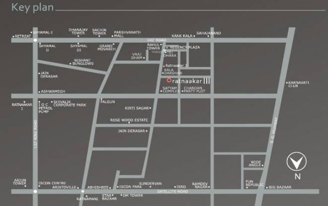 Nishant Ratnaakar III Location Plan