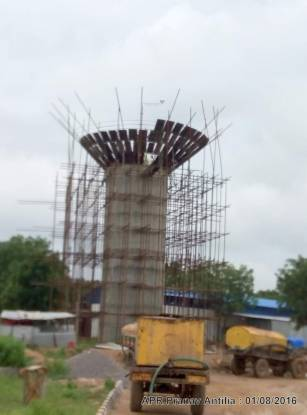 Praneeth APR Pranav Antilia Construction Status