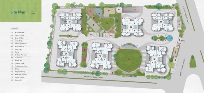 Deep Satyadeep Heights Site Plan