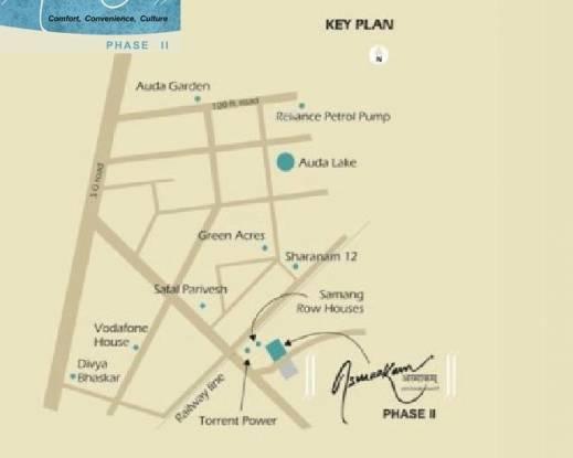 Nila Asmaakam Location Plan