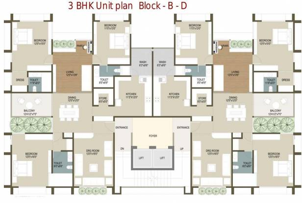 Deep Indraprasth 8 Frangipani Cluster Plan