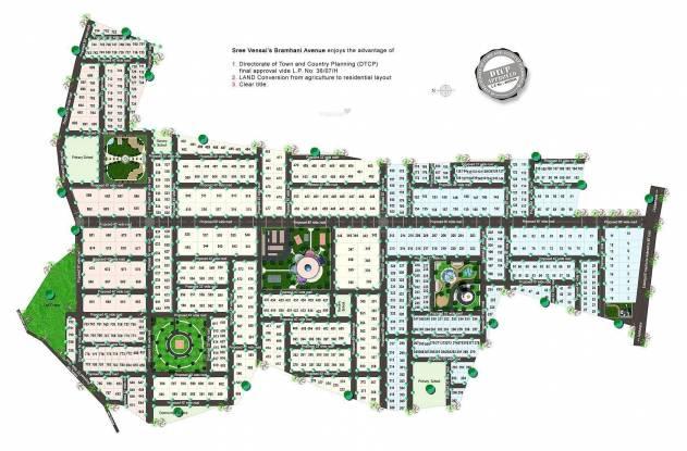 Sree Vensai Bramhani Avenue Layout Plan