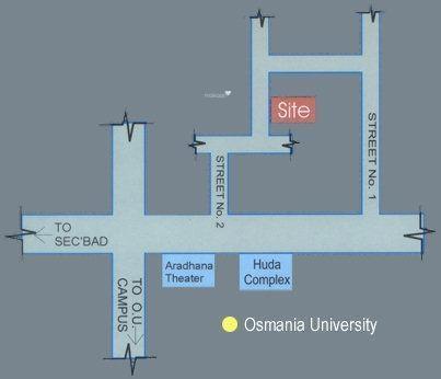 Jubilee Shubha Nilayam Location Plan