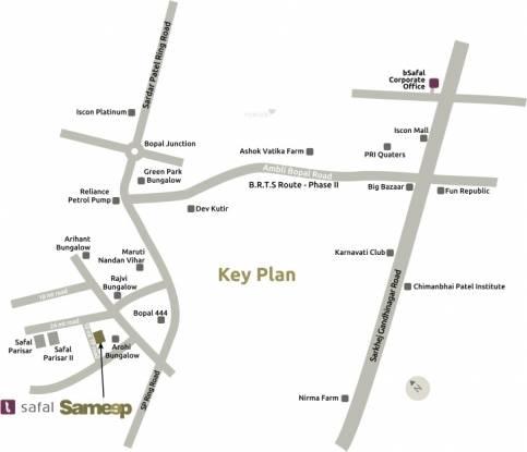 Safal Sameep Location Plan