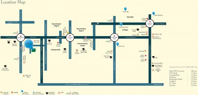 Sobha Heritage Location Plan