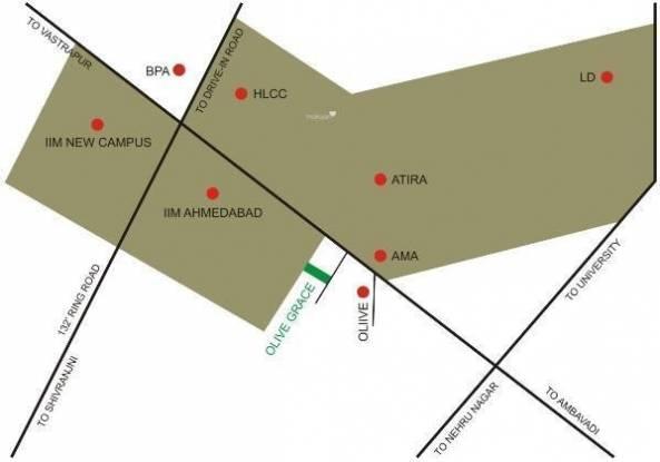 Olive Grace Location Plan