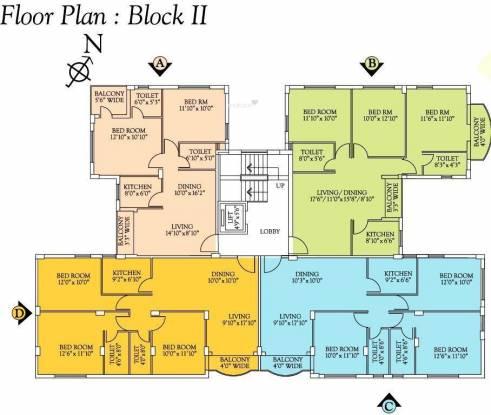 Unimark Srijan Heritage Enclave Cluster Plan