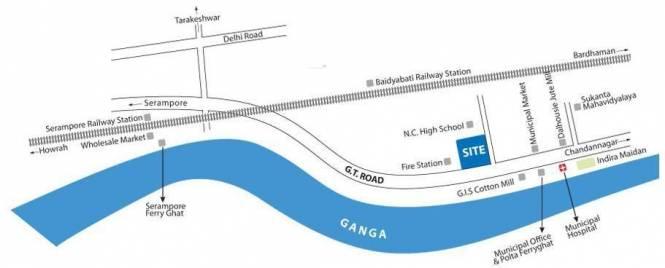 Multicon Riverview Location Plan