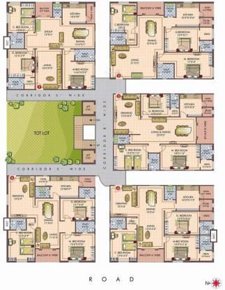 Udaya Royal Crest Cluster Plan