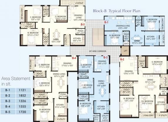HSR Vasudha Cluster Plan