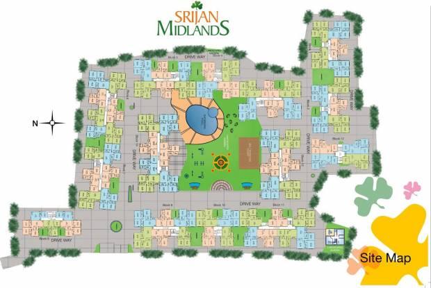 Srijan Midlands Site Plan