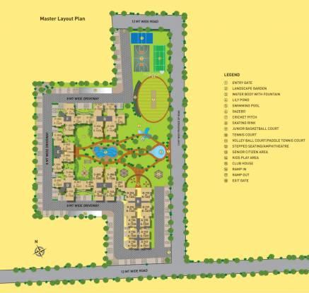 Arvind Sporcia Layout Plan