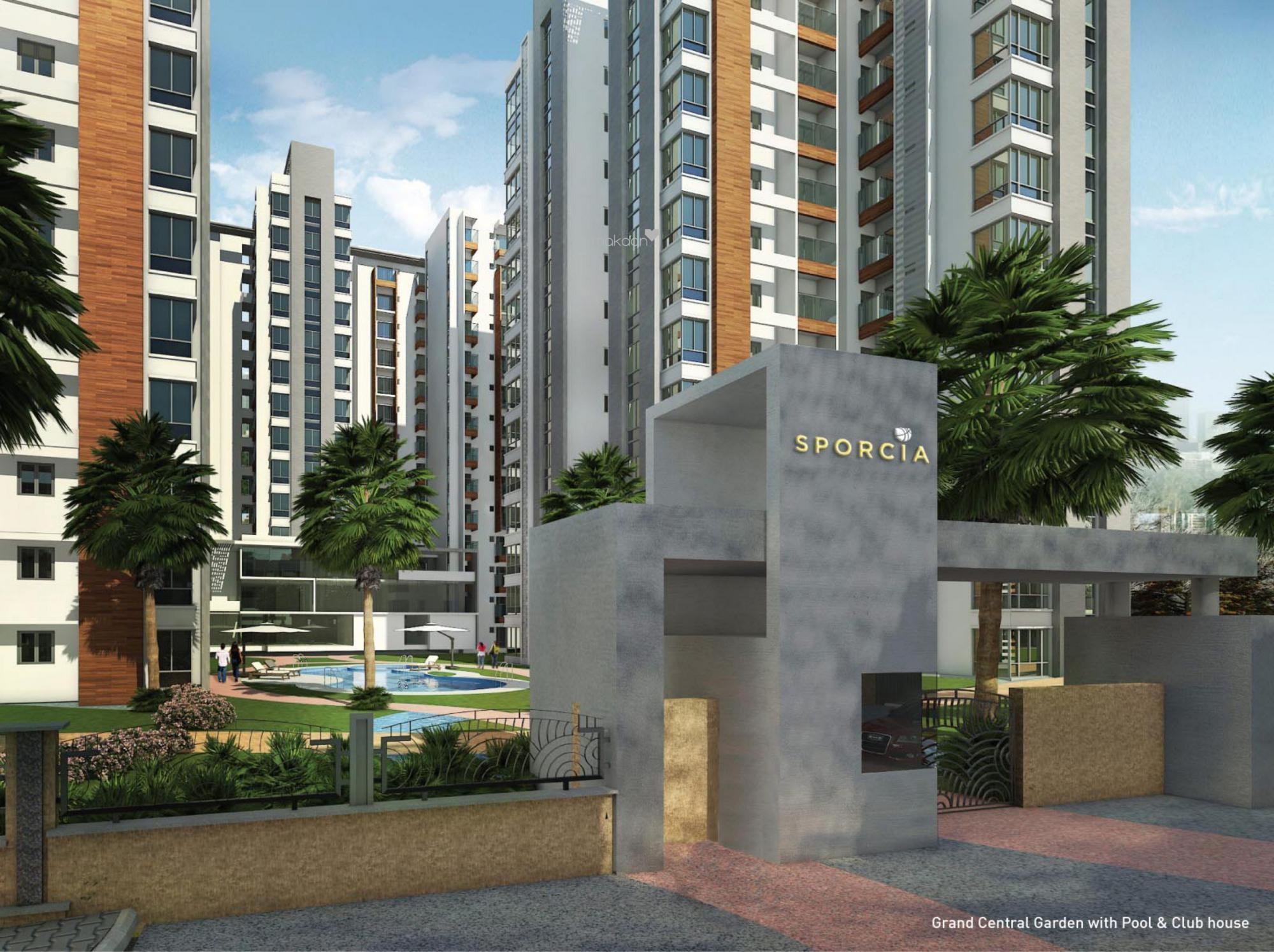 1007 sq ft 2BHK 2BHK+2T (1,007 sq ft) Property By Proptiger In Sporcia, Thanisandra