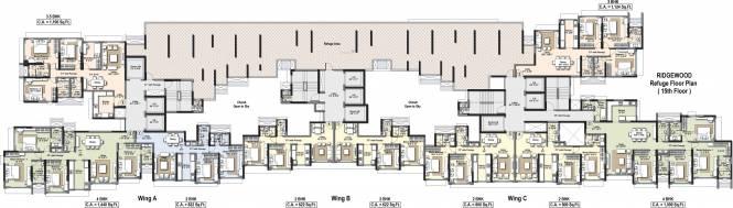 Raheja Ridgewood Cluster Plan