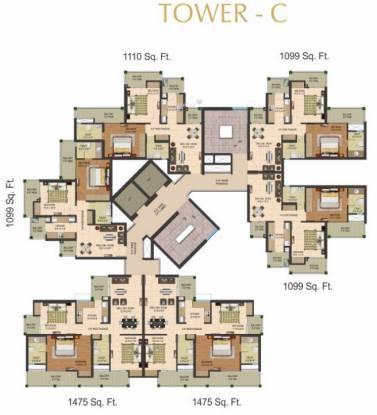 Ascent Savy Homz Cluster Plan