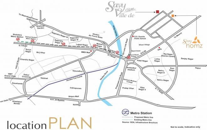 Ascent Savy Homz Location Plan
