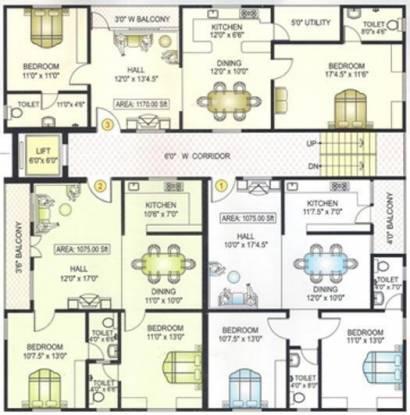 Matrixx Elegant Mansion Cluster Plan