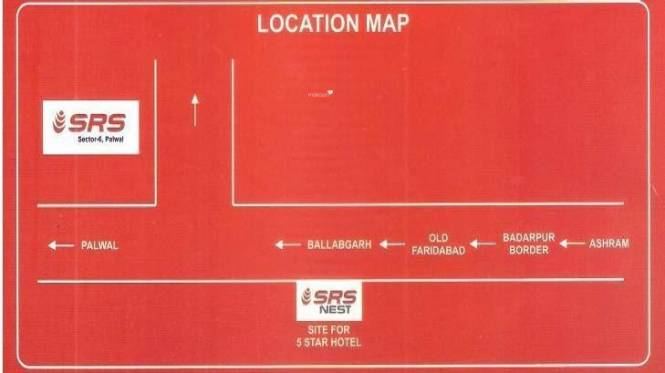 SRS SRS Plots Location Plan