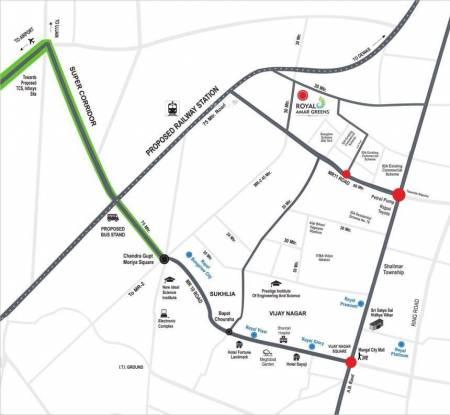 Man Royal Amar Green Location Plan