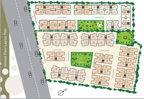 Shree Rang Nano City 1 And 2 Layout Plan