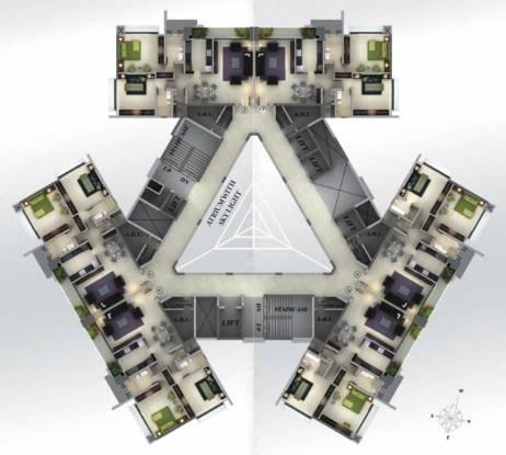Red Saifee Park Cluster Plan