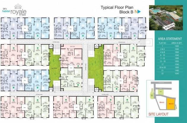 GK Habitat Royale Cluster Plan
